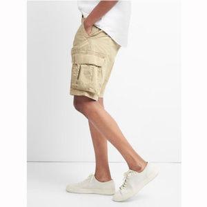 "Gap Khaki 12"" Cargo Shorts"
